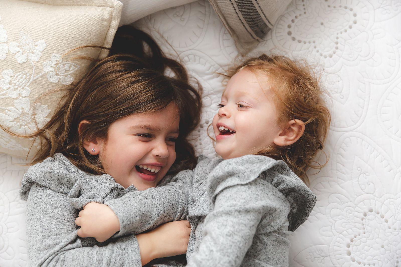 sisters tickling